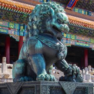 故宮の獅子