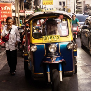 タイのバンコク街頭
