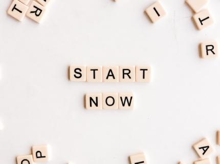 start now photo by Nicole Honeywill